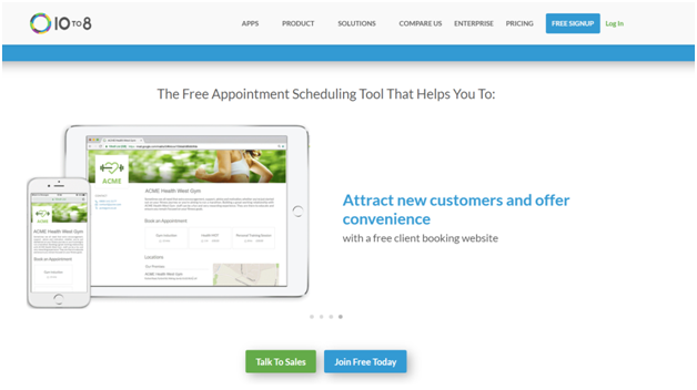 10to8- Appointment scheduling