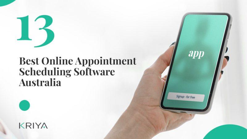 13 Best Online Appointment Scheduling Software Australia