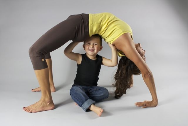 Think out of the box with yoga