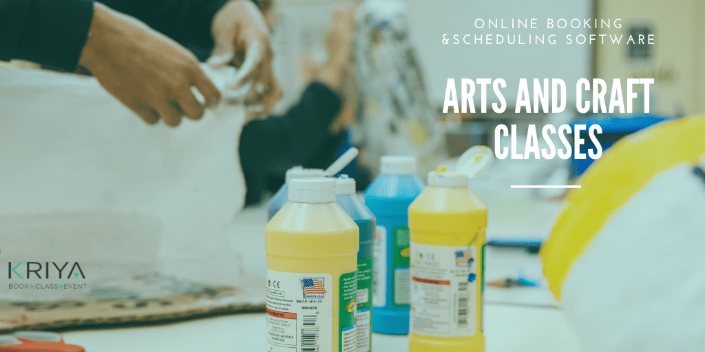 Art and Craft Classes Management Software and Bookings