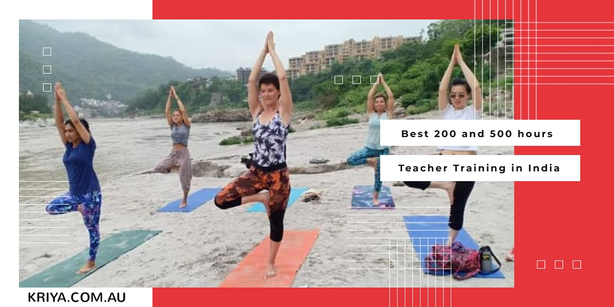 Best 200 and 500 hours Teacher Training in India