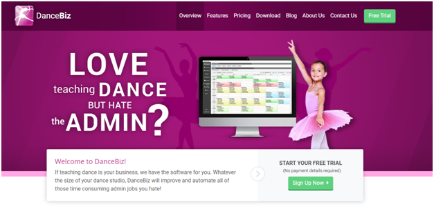 Dance biz studio software