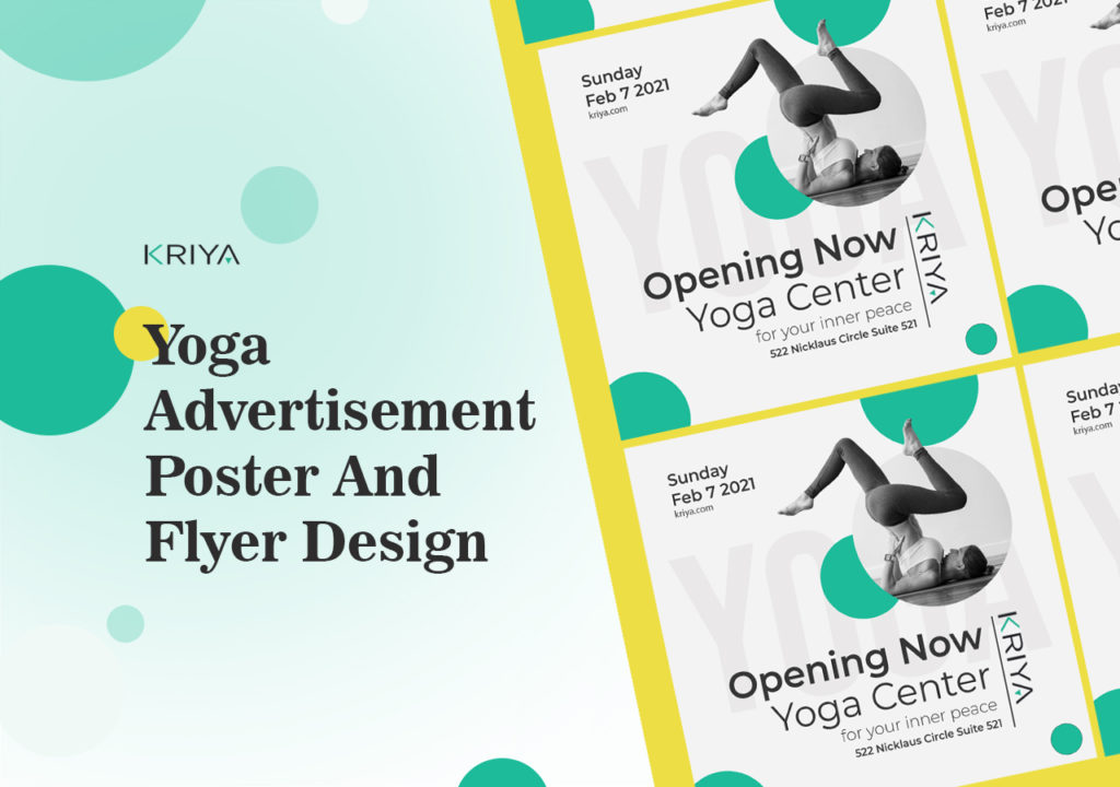 Design and Tips for Yoga and Pilates Flyers