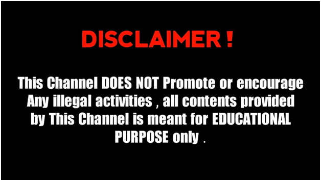 Disclaimers for your Social Media Channels
