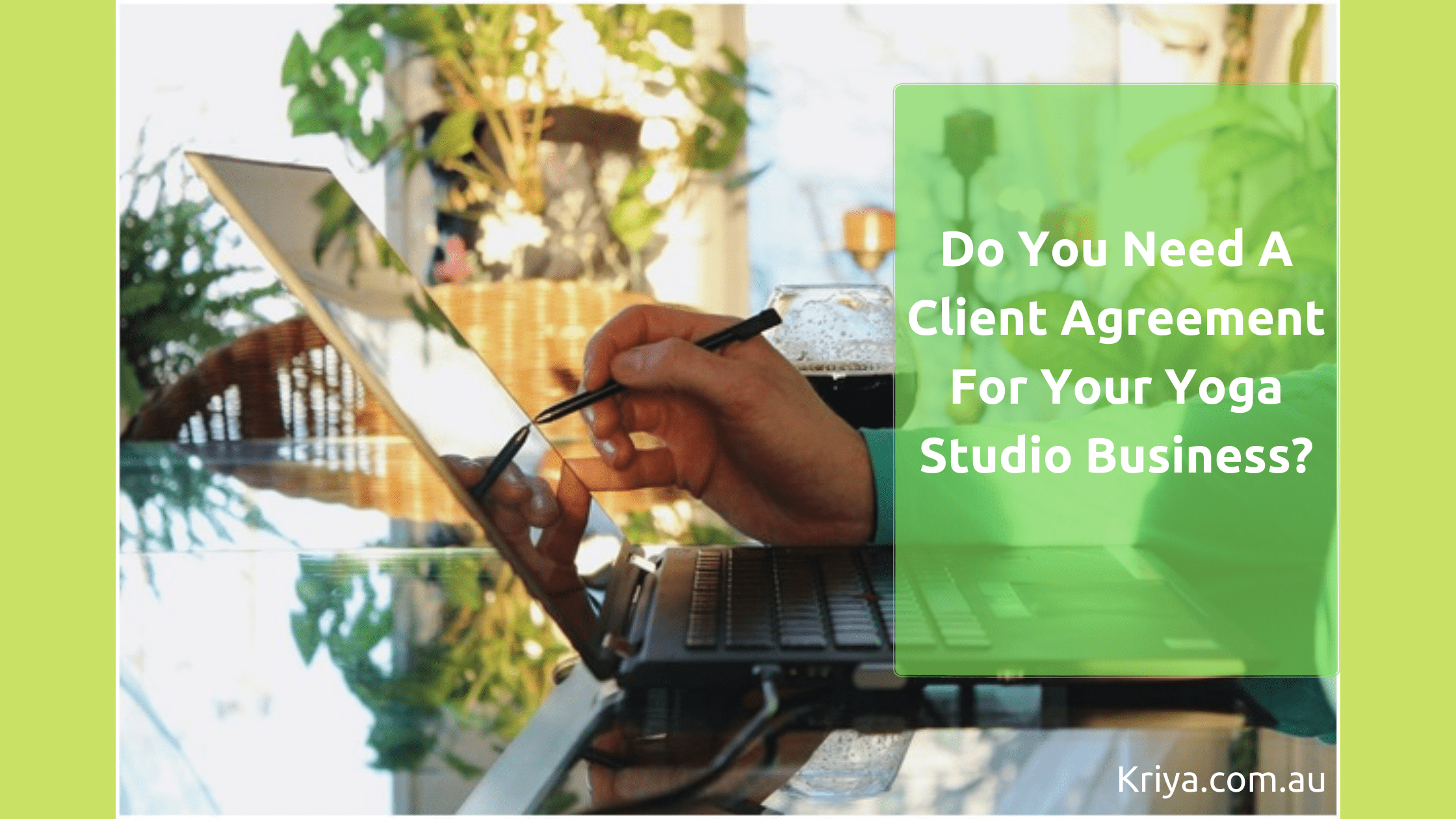 Do you need a client agreement for your yoga studio business_
