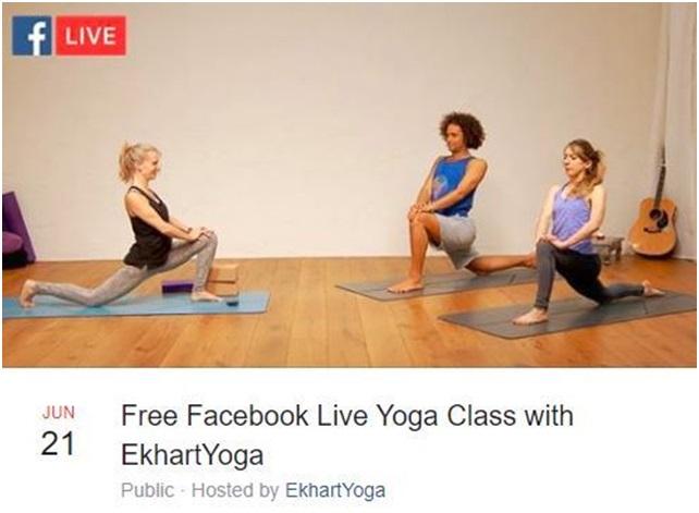 Facebook Live free online class