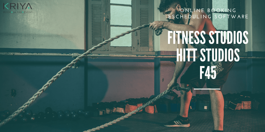 Fitness HITT Studio F45 Gym Software and Booking System