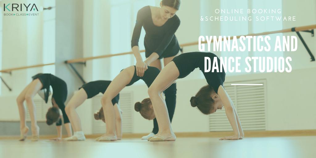 Gymnastics and Dance Studio Booking Software
