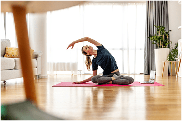 How to start online yoga class on Zoom