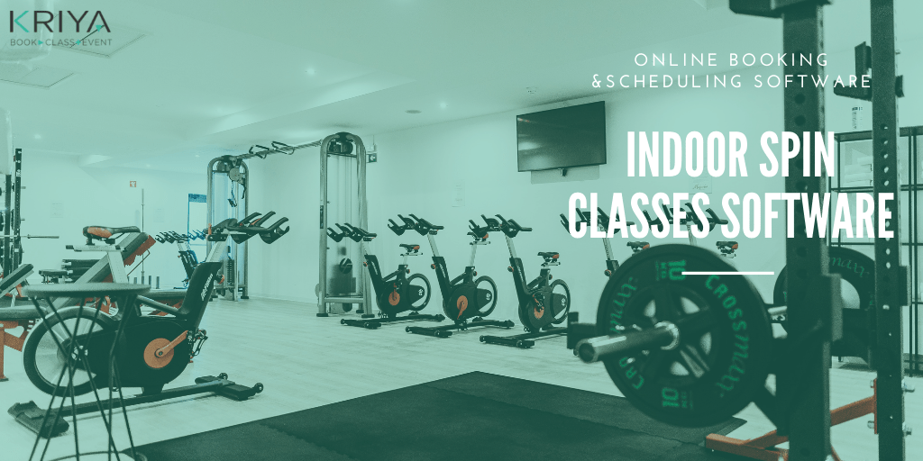 Indoor Spin Classes Software and Booking System