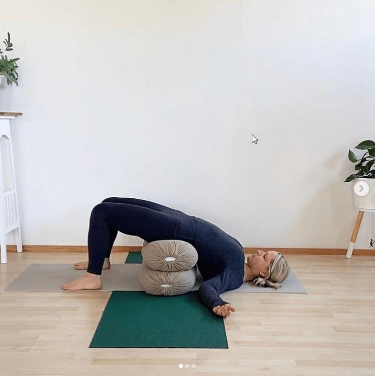 Irma The Yoga Co Rejuvenating Pose