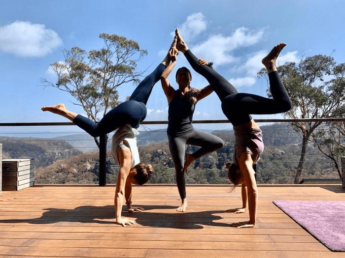 Kat Clayton Yoga retreat