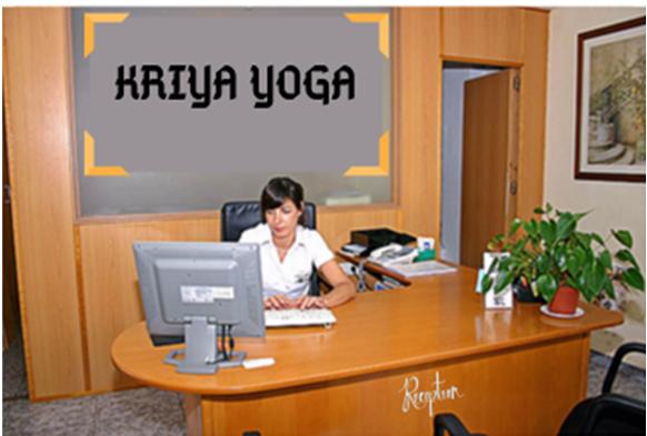 The work profile of the yoga studio receptionist