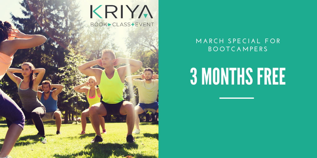 March Special for Bootcampers-Online-Booking-System-and-Management 3 months free