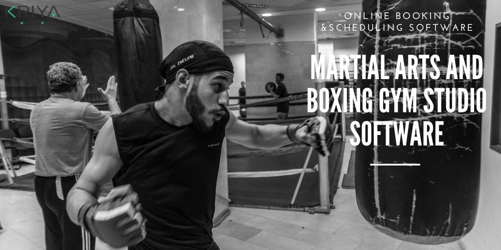 Martial Arts, Jiu Jitsu, Boxing Software and Booking System