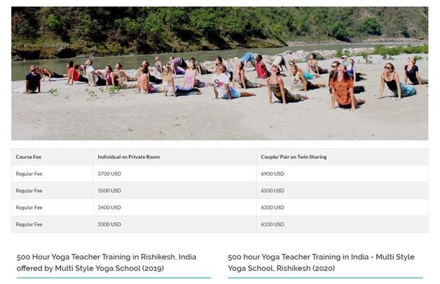 Multi Style Yoga School