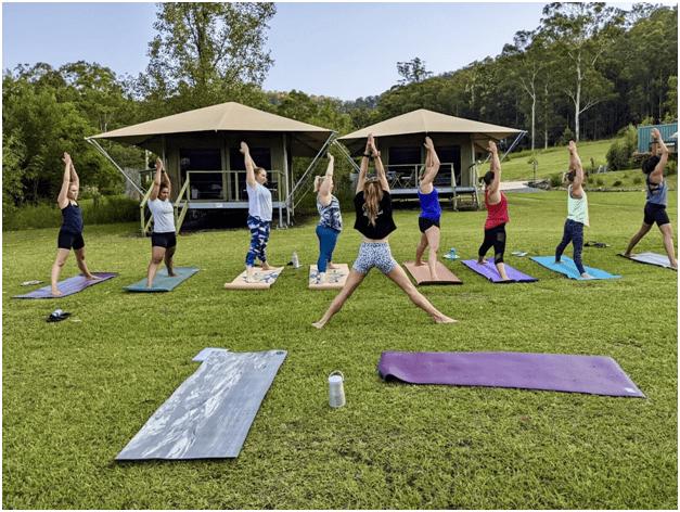 Otford yoga retreat