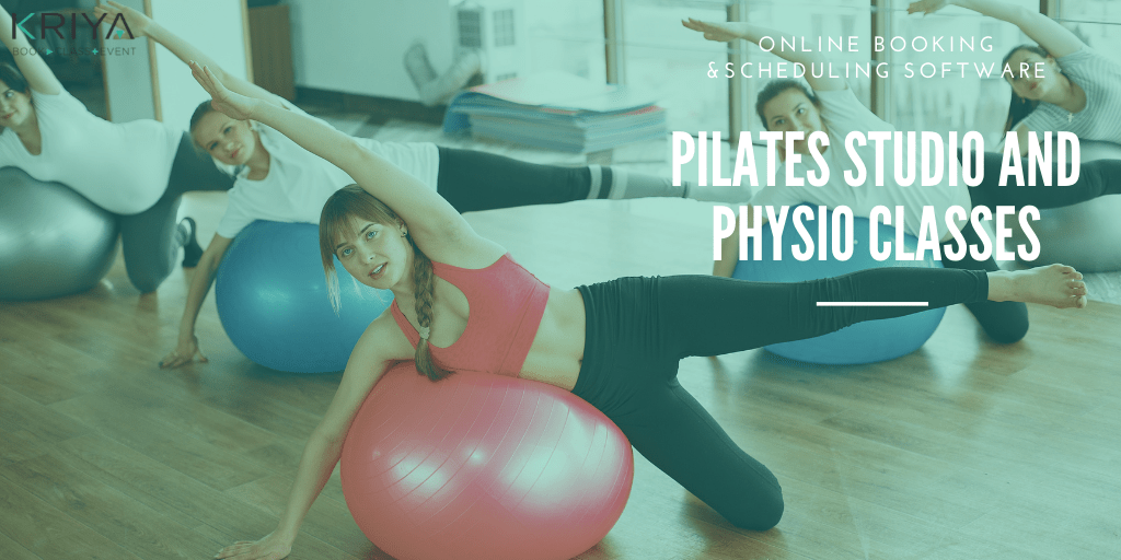 Physio and Pilates Studio on Mat Class Booking Software