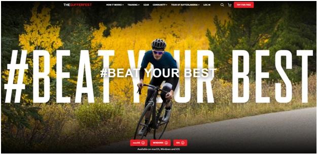 Sufferfest cycling app