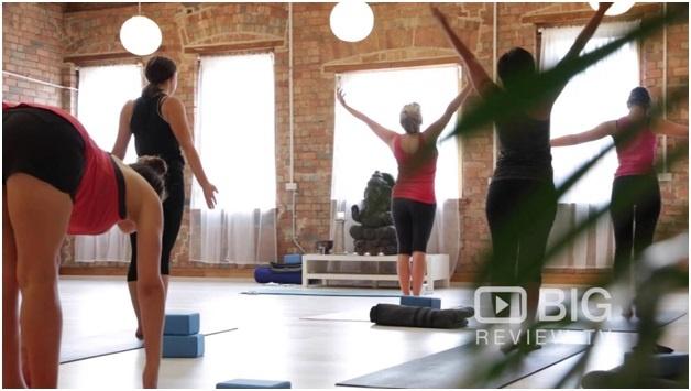 Best yoga studio vlog
