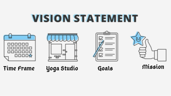 How to write a vision statement for your yoga studio?