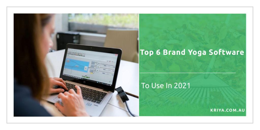 Top 6 Brand Yoga software
