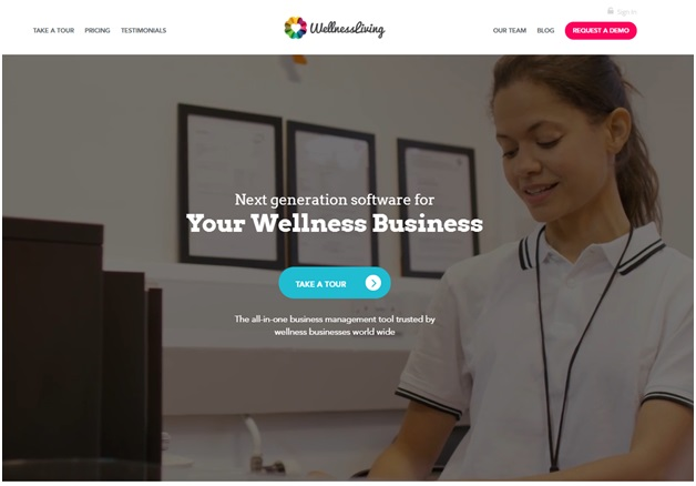 Wellness Living Booking Software