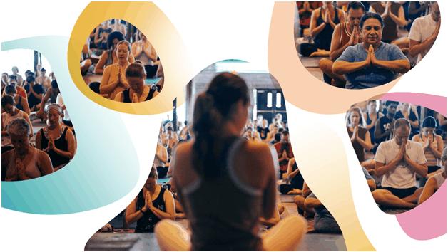 Where does Adriene teach yoga