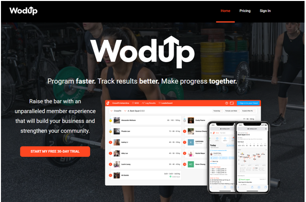 WodUp software