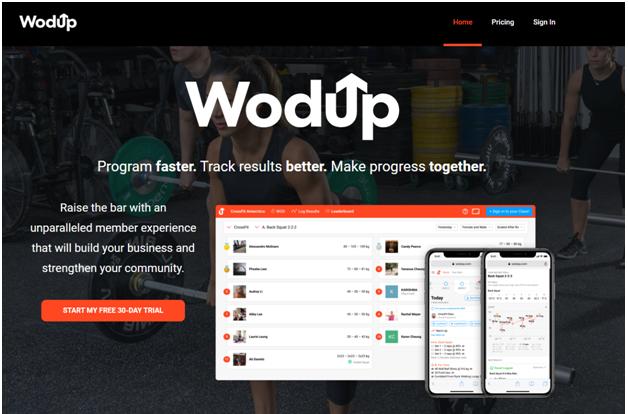 WodUp software