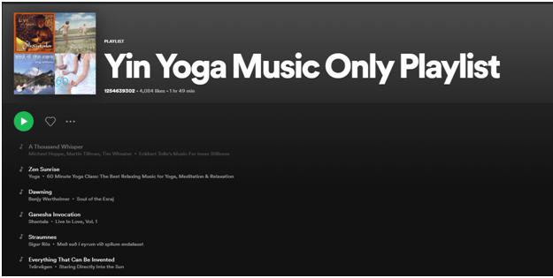 Best Yoga Playlist for Yin Yoga