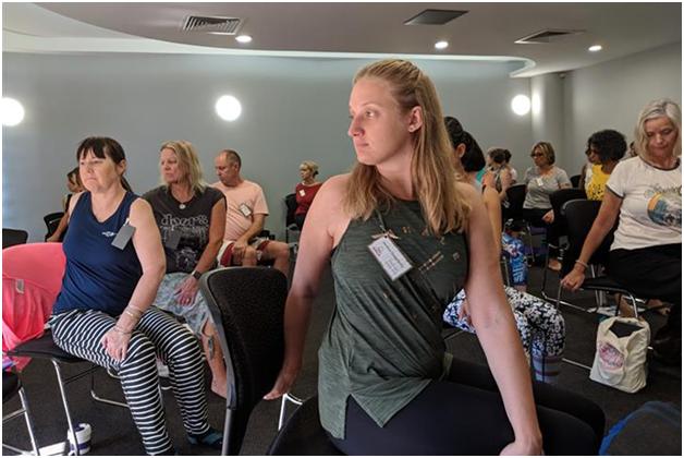 Find yoga teachers through professional associations in Australia