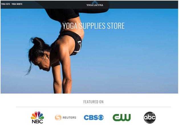 Yoga Lacuna app