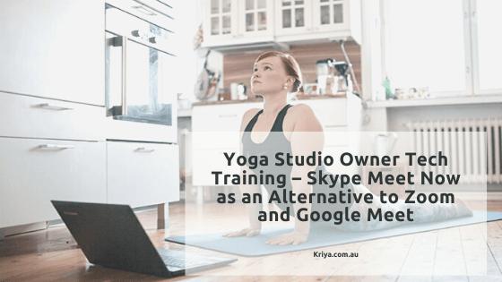 Yoga Studio Owner Tech Training – Sk