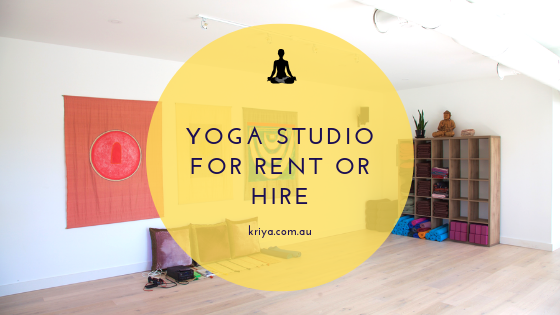 Yoga Studio for Rent Or Hire