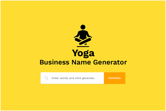 Yoga studio name generator