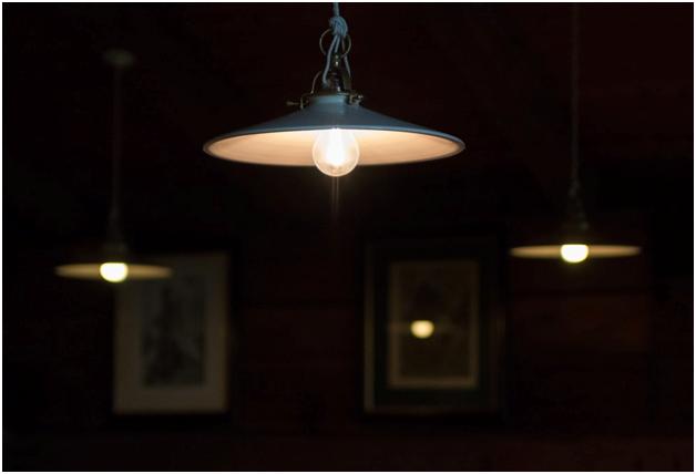 Yoga studio lights
