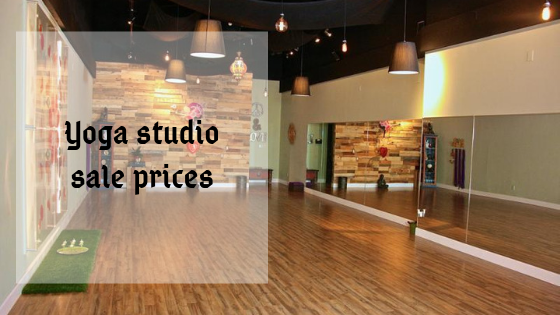 Yoga studio sale prices