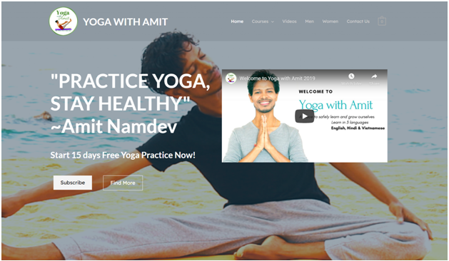 Yoga with Amit