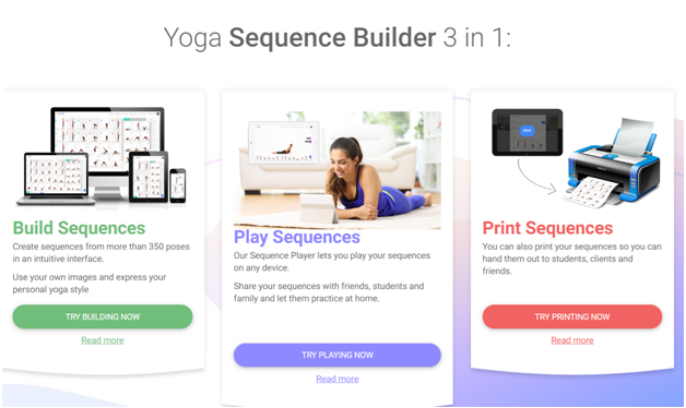 Yoga Sequence Builder Software