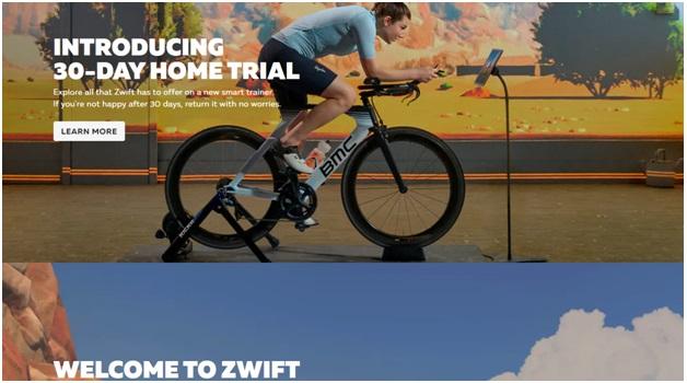 Zwift Indoor cycling app