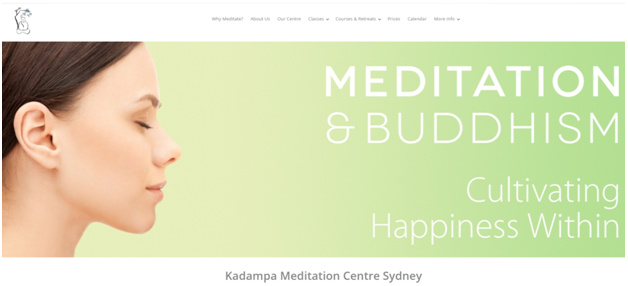 free meditation class in Sydney