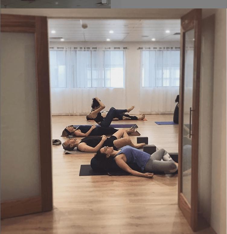 sohum yoga class