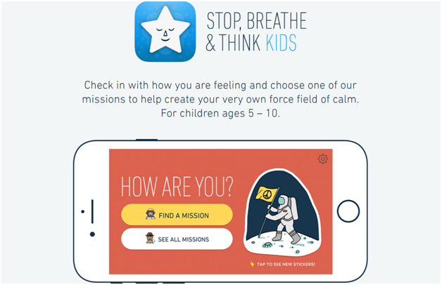 Stop, Breathe & Think Kids app