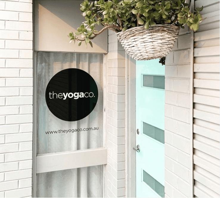 the yoga co iyengar yoga studio front door