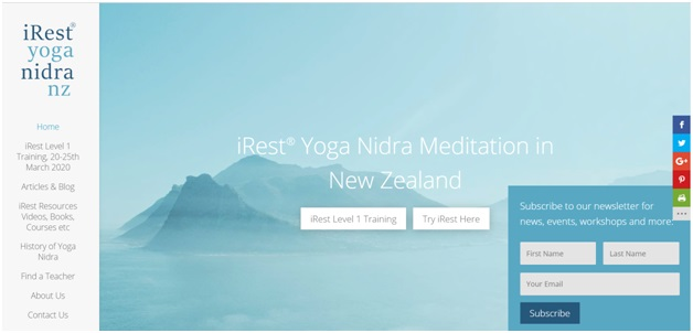 Yoga nidra NZ