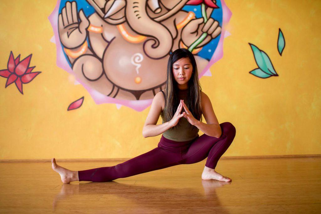yoga in sukha mukha bronte studio Bella Mae
