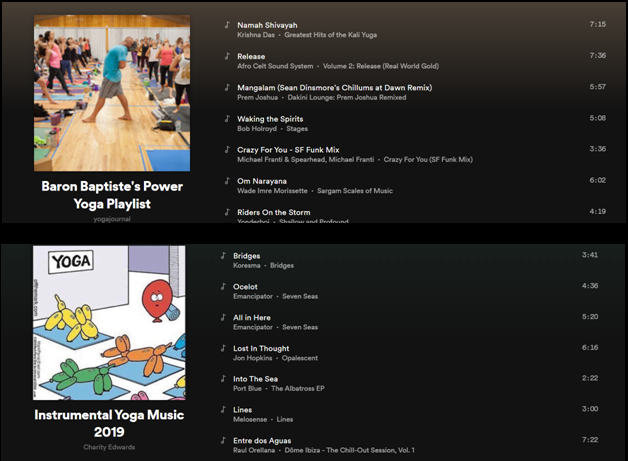 Best Yoga Playlist for Vinyasa yoga